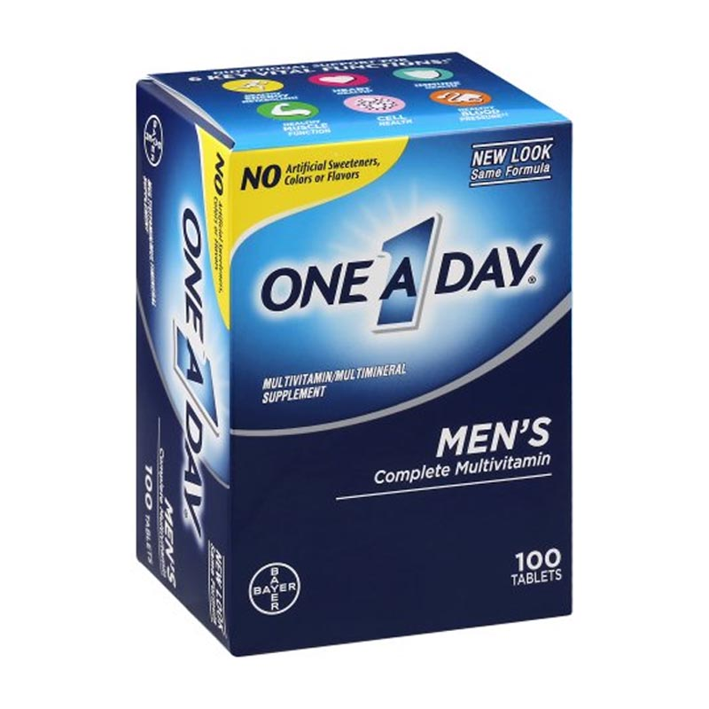 One A Day Men's 100 Tablets